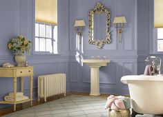 This is the project I created on Behr.com. Violet Shadow