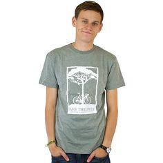 T-Shirt Mahagony Save Tree green ★★★★★