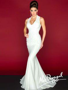 85351R   Mac Duggal - mermaid wedding dress