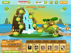 Select level UI game