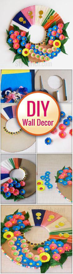 #DIYWallDecor ideas are super fun way to revamp any boring wall of your living room. We bring for you cool; creative to make Easy Wall Craft Using Best Out of Waste that meets and fits every budget and taste. For more details click here -https://youtu.be/n68dlwclZhk