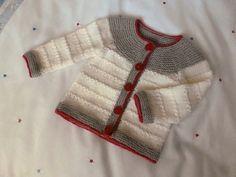 Ravelry: sofiecat's Neutral baby cardigan