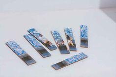 Un puzzle handmade para el día del padre. - AEIOUTURURU | Talleres creativos para peques Puzzles, Blue Prints, Creativity, Puzzle