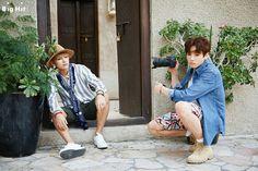 V and Jungkook ❤ #BTS #방탄소년단 Summer Package in Dubai.
