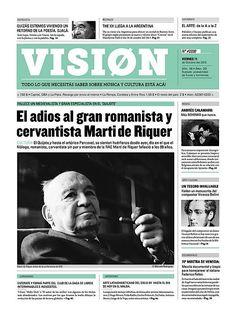 Editorial Design Inspiration: VISION Newspaper   Abduzeedo Design Inspiration