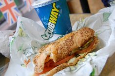 6 inch turkey cheese olives pickles lettuce on wheat! Healthy Desserts, Delicious Desserts, Yummy Food, Dinner Mints, Subway Sandwich, Edible Food, I Foods, Love Food, Cravings