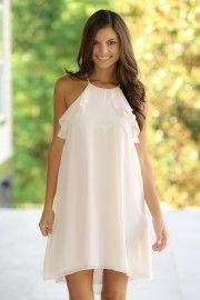 BCBGeneration:Be Still My Heart Dress-Blush