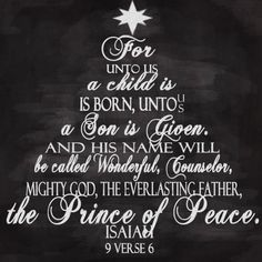 Isaiah 9:6.. Written between 740-680 B.C., toward the end of the reign of King Uzziah and throughout the reigns of King Jotham, Ahaz and Hezekiah. (740-680 years foretelling the birth if Jesus.... Ahhhmazing!!!!)