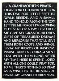 Lord bless my children..and a thousand generations after..