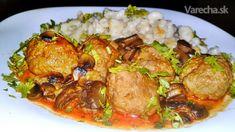 Mäsové guľky na bakoňský spôsob (fotorecept) - Recept