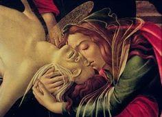Botticelli Kunstdruck Beweinung Christi