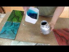 Hagalo Usted Mismo - Como Hacer Imitacion MARMOL FOSFORESCENTE En Colores - Luis Lovon - YouTube