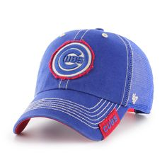 87990f43e73 Chicago Cubs Adjustable Mesh Bullseye Turner Cap by  47  ChicagoCubs  Cubs   MLB