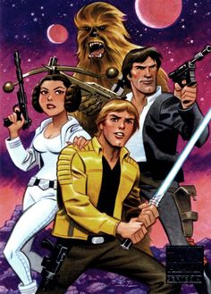 """"""" Star Wars by Bruce Timm """""""