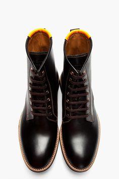 Designer biker & combat boots for Men Best Shoes For Men, Men S Shoes, Paul Smith, Prada, High Leather Boots, Stylish Boots, Only Shoes, Fashion Shoes, Mens Fashion