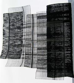 Reinventing the Video Tape by Aisha Ifitikhar  Also from Central Saint Martins, Aisha Ifitikhar weaves old videotape into new textiles, creating different textures, surfaces and structures.