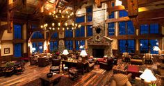 Visit Vista Verde Ranch and stay in a cabin while in Steamboat Springs.  Private hot tubs, cattle rounding participation, near whitewater rafting and snowboarding...heaven.