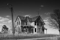 Abandoned house in Iowa