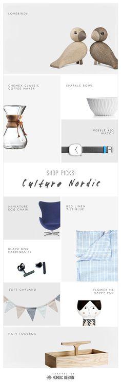Shop Picks: CultureNordic - NordicDesign