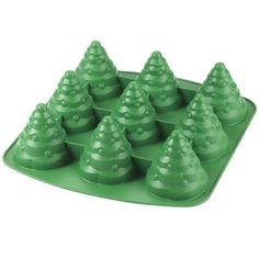 Wilton Mini Tree Silicone Mold 9 Cavities