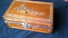 """Dybbuk Box - is a Jewish wine cabinet that is said to be haunted by a dybbuk, a restless and usually malicious spirit. There are some that say that the dybbuk can not only haunt an area (i.e. house, land, building) but can also haunt and even posses and individual that possesses the box. If they are real or not is not something I want to risk finding out. The 2012 movie """"The Possession"""" was inspired by a dybbuk box."""