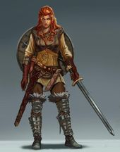 Aalban/Boldavia (Principalities of; Reaches'), Norwold (Oceansend), Helskir (Isle of Dawn), or Dungannon (Redstone Castle; Isle of Dawn) area(s)/region(s) Fantasy Female Warrior, Fantasy Armor, Fantasy Women, Woman Warrior, Dungeons And Dragons Characters, Dnd Characters, Female Characters, Fantasy Characters, Dungeons And Dragons Paladin