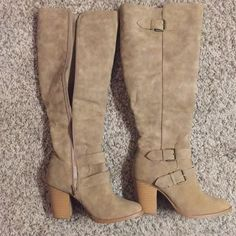 74054991039 12 Best Beige knee high boot outfits images in 2018 | Winter fashion ...