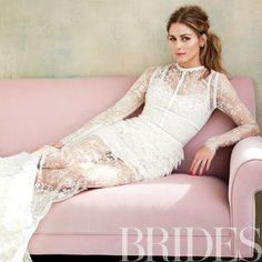 Brides.com: Exclusive Outtakes from Olivia Palermo's Brides Cover Shoot.