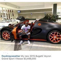 Gossips (World) :: Floyd Mayweather Celebrates $300Million Earnings In One Year. | BOLLARBOY