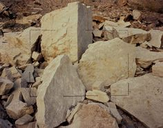 """Pink Rock Rectangle"" John Pfahl, Artpark, Lewiston, New York, 1975 Landscape Photos, Landscape Photography, Art Photography, Pescadero Beach, Capitol Reef National Park, Contemporary Photographers, Riddler, Pacific Rim, Land Art"