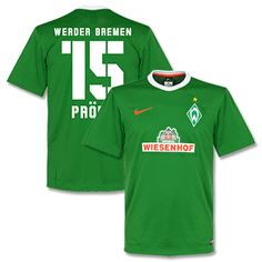 Nike Werder Bremen Home Prödl 15 Supporters Shirt Werder Bremen Home Prödl 15 Supporters Shirt 2014 2015 (Fan Style Printing) http://www.comparestoreprices.co.uk/football-shirts/nike-werder-bremen-home-prã¶dl-15-supporters-shirt.asp
