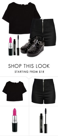 """""""Sin título #746"""" by brenda-199 ❤ liked on Polyvore featuring MANGO, Love Moschino and Lord & Berry"""