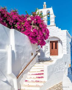 """ValantisM on Instagram: """"The  Blooming alleys of Paros 😍From 1 to 7 which is your favourite shots from this divine island 😍😍don't forget to check 👉 Www.valantism.gr…"""" Places Around The World, Travel Around The World, Around The Worlds, Paros Greece, Santorini Greece, Paros Island, Destinations, Destination Voyage, Bougainvillea"""