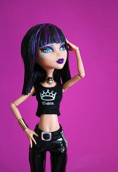 monster high doll patterns | Monster High Part 2