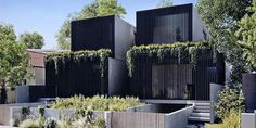 Combining simplicity, proportion and landscape. Duplex Design, Townhouse Designs, Dublin Street, House In Nature, Unique House Design, Roof Top, Facade House, Terraces, Beautiful Space