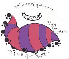 cheshire cat tattoo   Cheshire Cat Tattoo Concept by ~ZukieThePharaoh on deviantART