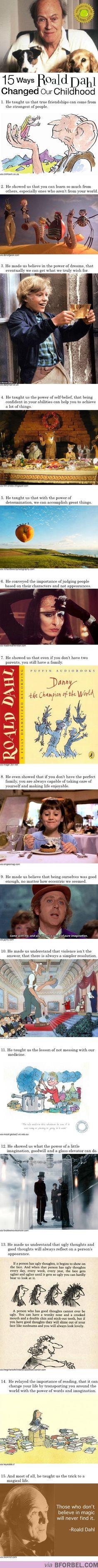 15 Ways Roald Dahl Changed Our Childhood… Happy Roald Dahl Day!
