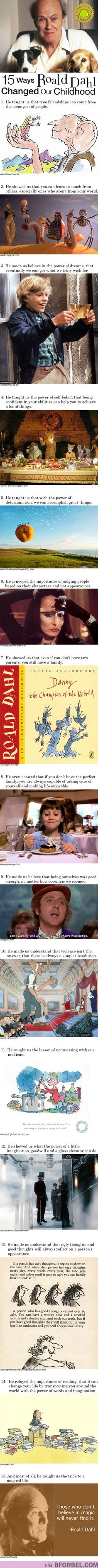 15 Ways Roald Dahl Changed Our Childhood… Happy Roald Dahl Day!