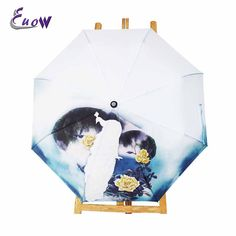 Cheap sun protection umbrella, Buy Quality rainy umbrella directly from China flower umbrella Suppliers: Creative Peacock And Flowers Umbrella Anti-UV Sun Protection Umbrella 3 Folding Gift Sunny Rainy Umbrellas For Women