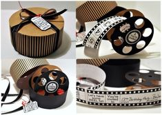 New Ideas Birthday Presents Box Fun Diy Birthday, Birthday Presents, Birthday Outfits, Sister Birthday, Funny Birthday, Birthday Ideas, Happy Birthday, Deco Cinema, Movie Reels