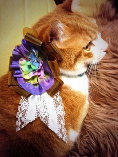 アクセサリー:紫陽花ロゼット