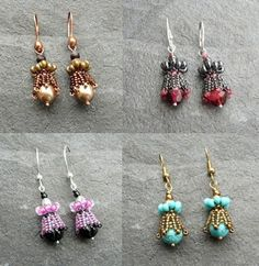 Tinkerbell Earrings-downloadable available in english