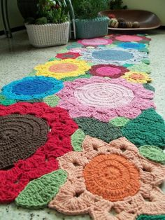 crochet rug...this is awesome!!!!!!