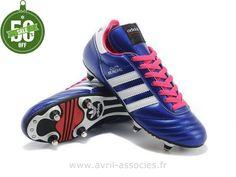 factory price d3289 34875 Boutique 2014 Coupe du monde Chaussures de foot adidas Copa Mundial FG SG  Mauve Blanc Rose (Chaussures Foot Adidas)