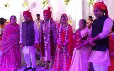 Rajeev vora with govindlal vora during the family function #vora #govindlalvora #journalist #socialist #politician #educationist #raipur #chhattisgarh Politicians, Wedding Ceremony