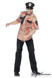 """""""ZOMBIE"""" OFFICIER DE POLICE US  http://www.prod4you.com/#!deguisement-costume-pour-homme/c1swj"""