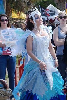 FL Renaissance Festival - Winter Fairy by jrozwado, via Flickr