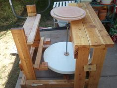 DIY kick wheel