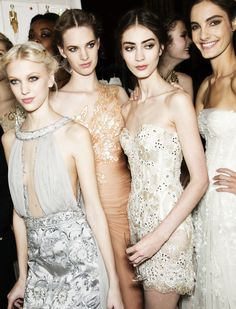 Backstage Zuhair Murad Haute Couture Spring-Summer 2013