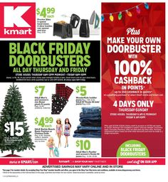 Kmart Black Friday 2018 Ads and Deals Browse the Kmart Black Friday 2018 ad scan and the complete product by product sales listing. Black Friday News, Black Friday 2019, Christmas Catalogs, Christmas Sale, Boxers For Sale, Senior Home Care, Store Hours, Ways To Save Money, Ads
